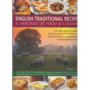 9780681358096: English traditional recipes: a heritage of food & cooking