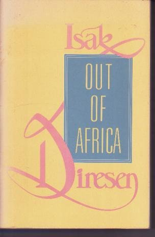 9780681401808: Out of Africa and Shadows on the Grass