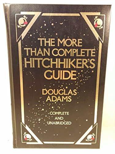 More Than Complete Hitchhiker's Guide: Complete & Unabridged: Douglas Adams