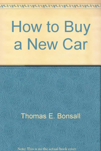 9780681409446: How to Buy a New Car (No Nonsense Car Guides)