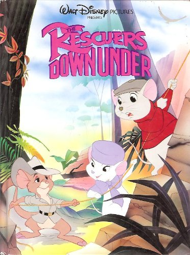 9780681414303: The Rescuers Down Under (Walt Disney) (Oversized Picture Book)