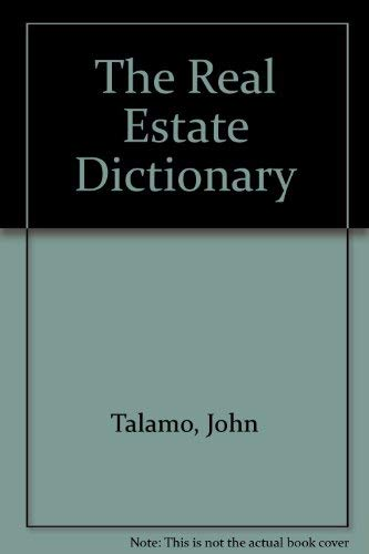 9780681414761: The Real Estate Dictionary