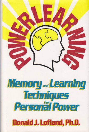 9780681415744: Powerlearning: Memory and Learning Techniques for Personal Power