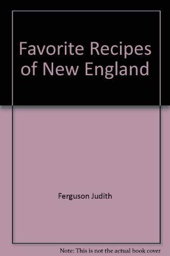Favorite Recipes of New England: Judith Ferguson