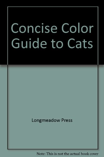 Concise Color Guide to Cats (Concise Color Guides) [Paperback]