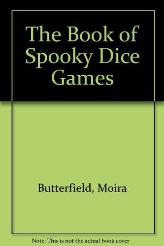 9780681453753: The Book of Spooky Dice Games
