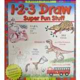 9780681456181: 1-2-3 Draw, Super Fun Stuff, Step-By-Step, 5 Books in One! (Art Instruction / Drawing)