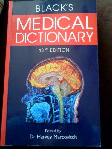 9780681515208: Blacks Medical Dictionary