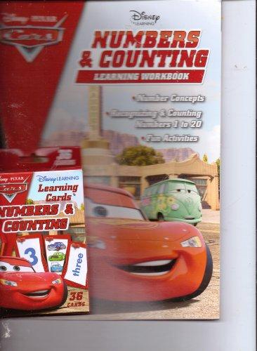 Disney*Pixar Cars Numbers & Counting Workbook &: Disney*Pixar