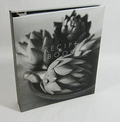 9780681708501: Artichoke Print Blank Recipe Book (B & W)