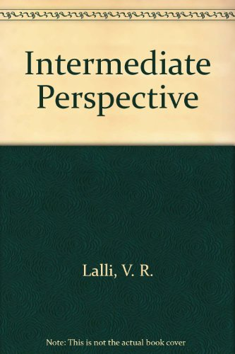 9780682400565: Intermediate Perspective: Step-By-Step Lessons in Perspective Drawing