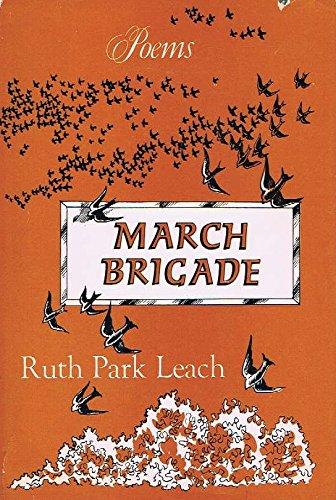 9780682472623: March Brigade: Poems