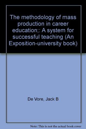 The methodology of mass production in career: De Vore, Jack