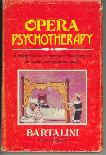 9780682497039: Opera Psychotherapy
