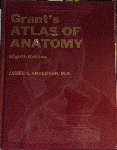 9780683002119: Grants Atlas of Anatomy 8ED