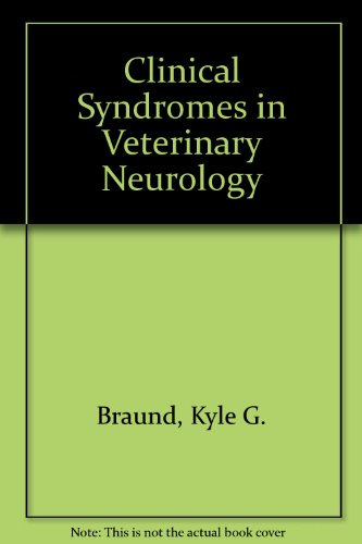9780683010152: Clinical Syndromes in Veterinary Neurology