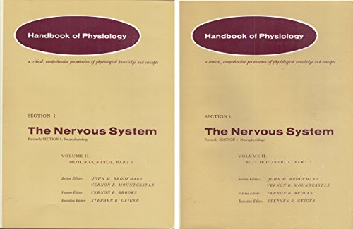 9780683011050: American Physiological Society Handbook of Physiology: Nervous System Section 1