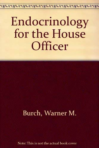 9780683011326: Endocrinology for the House Officer
