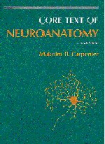 9780683014570: Core Text of Neuroanatomy