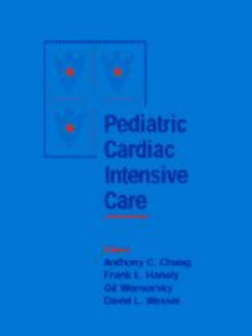 9780683015089: Pediatric Cardiac Intensive Care