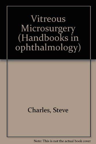 9780683015508: Vitreous Microsurgery (Handbooks in Ophthalmology)
