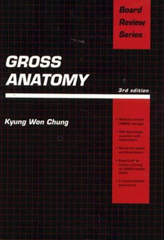 9780683015638: Gross Anatomy (Board Review Series)