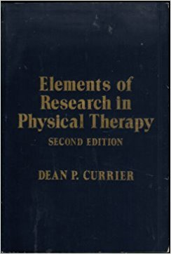 9780683022476: Elements of Research in Physical Therapy