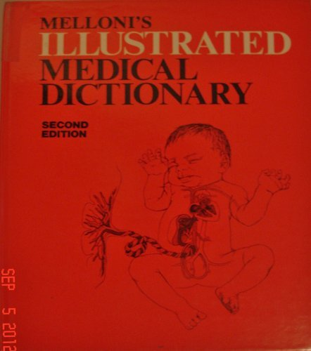9780683026412: Melloni's Illustrated Medical Dictionary