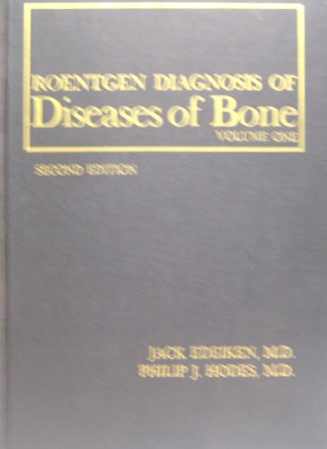 Roentgen diagnosis of diseases of bone (Goldens