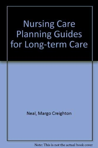 9780683027969: Nursing Care Planning Guides for Long Term Care (Applying nursing diagnosis)