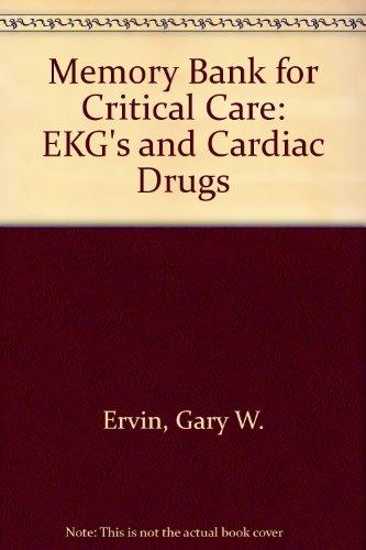9780683028201: Memory Bank for Critical Care: Ekgs and Cardiac Drugs