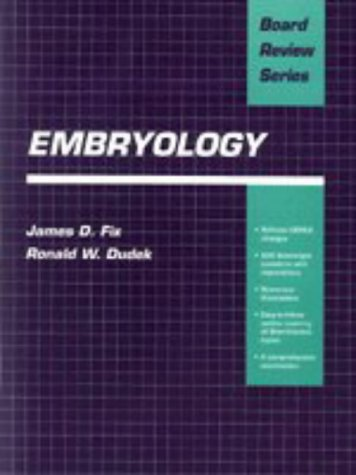 9780683032437: BRA Embryology (Board Review)