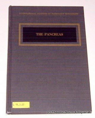 9780683032475: The Pancreas (International Academy of Pathology Monograph)