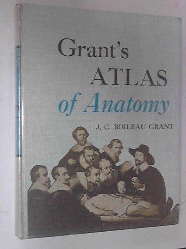 Atlas of Anatomy, by Regions: Grant, J.C.