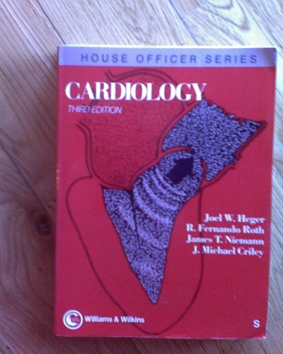 9780683039498: Cardiology (House Officer Series)