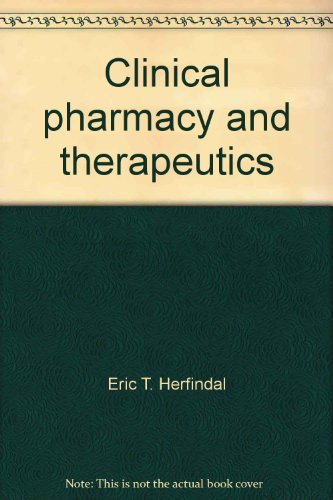 9780683039597: Clinical pharmacy and therapeutics,