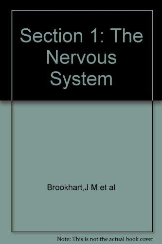 9780683045055: American Physiological Society Handbook of Physiology: Nervous System Section 1
