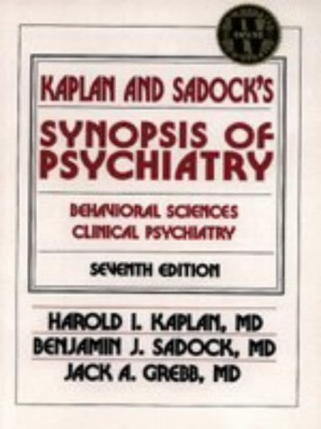 9780683045307: Kaplan and Sadock's Synopsis of Psychiatry: Behavioral Sciences Clinical Psychiatry