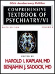 9780683045321: Comprehensive Textbook of Psychiatry/VI, 30th Anniversary Edition (2 Volume set)