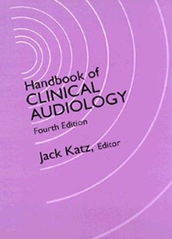 9780683045482: Handbook of Clinical Audiology