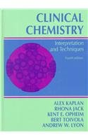 9780683045604: Clinical Chemistry: Interpretation and Techniques