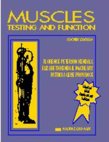 9780683045765: Muscles, Testing and Function: With Posture and Pain