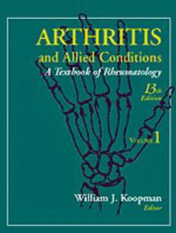 9780683047288: Arthritis and Allied Conditions: A Textbook of Rheumatology (13th ed)
