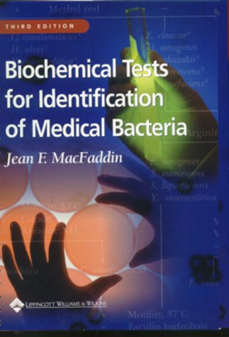 9780683053180: Biochemical Tests for Identification of Medical Bacteria