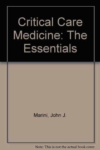 9780683055542: Critical Care Medicine: The Essentials