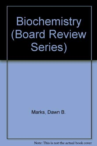 9780683055948: Biochemistry (Board Review Series)