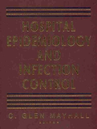 9780683056600: Hospital Epidemiology and Infection Control