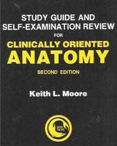9780683061444: Study Guide Self-Examination Review for Clinically Oriented Anatomy