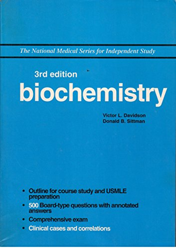 9780683062052: Biochemistry (The National Medical Series for Independent Study)
