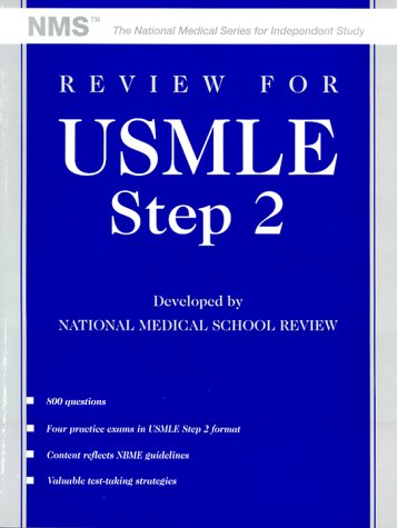 9780683062076: Review for Usmle: United States Medical Licensing Examination, Step 2 (The National Medical Series for Independent Study)